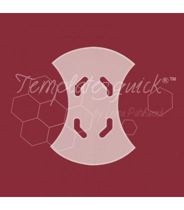 Plantilla Apple Core de Plastico Templatesquick®™ 28 piezas el paquete 30 mm