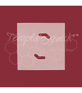 Plantilla Cuadrado de Plástico Templatesquick®™