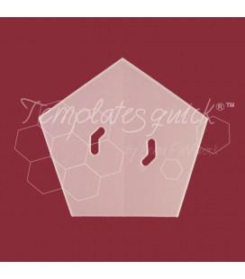 Plantilla Pentágono de Plástico Templatesquick®™