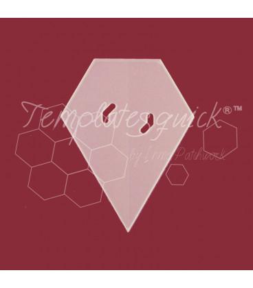 Plantilla Rubi de plástico Templatesquick®™  21piezas 6.5 mm