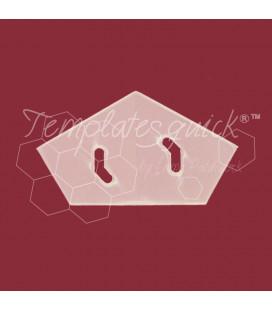 Plantilla Corona de Plástico Templatesquick®™