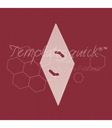 Plantilla Diamante 45º de Plastico Templatesquick®™