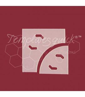 Plantilla Sendero del Borracho de Plástico Templatesquick®™