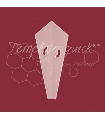 Plantilla Dresden Antulo 16 petalos de Plastico Templatesquick®™