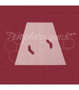 Plantilla Dedal de Plástico Templatesquick®™