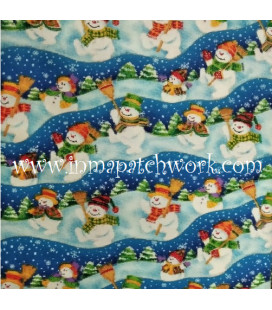 Tela Navidad  62908