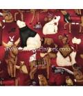 Tela Navidad MTR2347