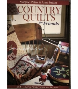 LIBRO COUNTRY QUILTS FOR FRIENDS