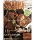 LIBRO QUILTING COUNTRY 12 ANIMAUX