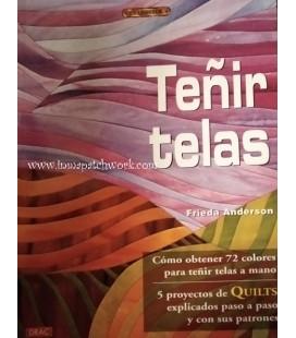 LIBRO TEÑIR TELAS