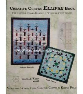 LIBRO CREATIVE CURVES ELLIPSE BOOK