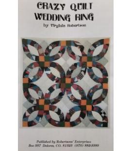 CRAZY QUILT WEDDING RING 1409