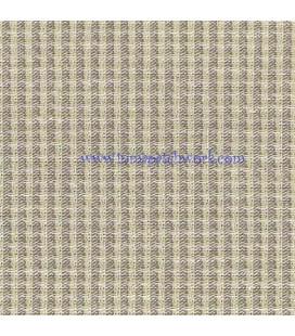 Tela Japonesa Tramada 1225 Cuadro Vichi gris clara