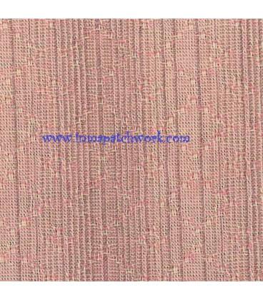 Tela Japonesa tramada 1240A Rombos rosa claro
