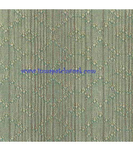 Tela Japonesa tramada1240 B Rombos azul verdosa