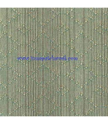 Tela Japonesa tramada 1240B Rombos azul verdosa