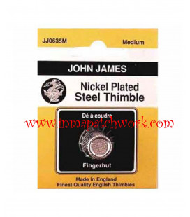 Dedal Metalico Acolchar John James