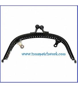 Boquilla monedero 16,2 * 7,5 cm color negro