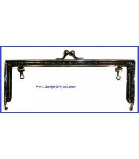 Boquillamonedero negra 16.5 x 6.5cm