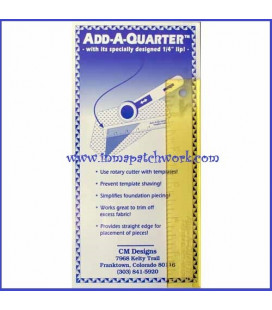 REGLA ADD-AQUARTER 6 inchas 1/4 PULGADA-C1124