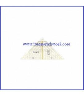 Regla OMNIGRID triangular 17 x 24 cmC7801