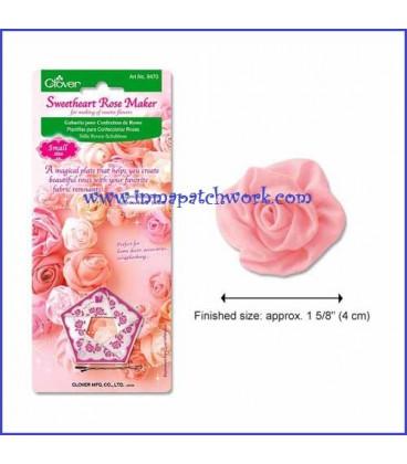 Plantilla para hacer rosas de 4 cm-Clover 8470C1662