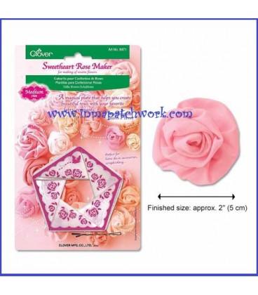Plantilla para hacer rosas de 5 cm.-Clover 8471C1663