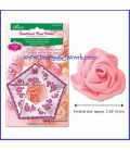 Plantilla para hacer rosas de 6 cm. Clover 8472C1664