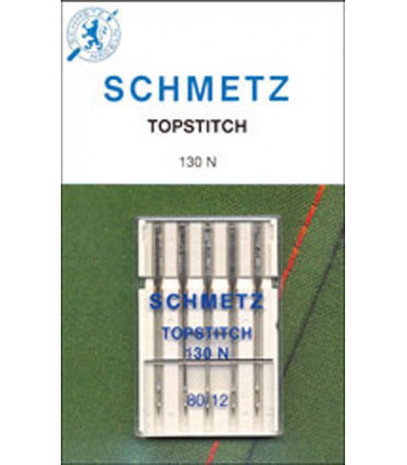 Agujas SchmetzHilo metalico 5und.