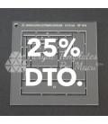 LOG CABIN 25% DTO.